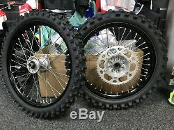 OEM Kawasaki KXF250 KXF450 Wheel Set 1.85x19 1.60x21 KXF 250 450 KX250F KX 250F