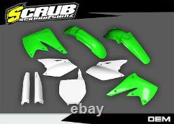 Plastics Kawasaki KX250f KXf 250 2004 2005 OEM body kit