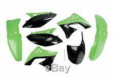 Plastiksatz Plastikkit inkl. Nummerntafel Kawasaki KXF 450 KX-F OEM 2012