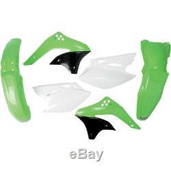 Plastiksatz Plastikkit inkl. Nummerntafel OEM Kawasaki KXF KX-F 450 2007