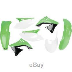 Plastiksatz Plastikkit inkl. Nummerntafel OEM Kawasaki KXF KX-F 450 2009