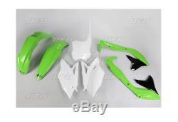 Plastiksatz Plastikkit inkl. Nummerntafel OEM Plastik Kawasaki KXF 450 2018