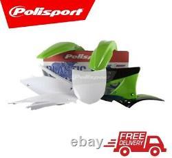 Polisport Plastic Kit Kawasaki KXF450 2009-2011 PLASTIC BOX KIT OEM COLOUR 10/11