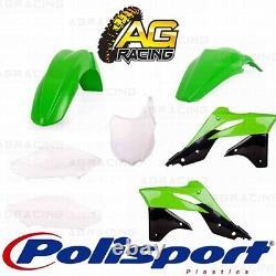 Polisport Plastics Box Kit For Kawasaki KX 250F KXF 250 (2016 OEM Colours) 2014