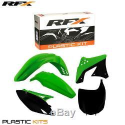 RFX Plastic Kit Kawasaki (OEM) KXF250 09-12 (5 Pc Kit)