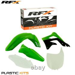 RFX Plastic Kit Kawasaki (OEM) KXF450 2012 ONLY (5 Pc Kit)
