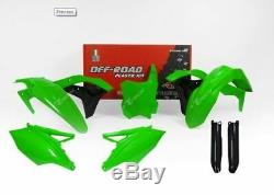 RTech Kawasaki KXF450 Replica Plastic Kit 2016-2018 (Green Neon)