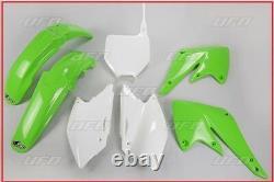 Set Plastic Complete OEM UFO Kawasaki Kxf 250 2004