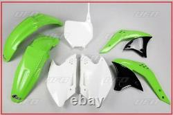 Set Plastic Complete OEM UFO Kawasaki Kxf 250 2007