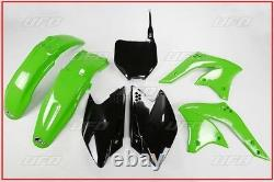 Set Plastic Complete OEM UFO Kawasaki Kxf 250 2008