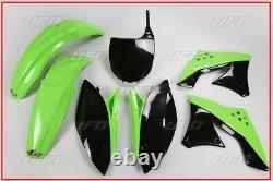 Set Plastic Complete OEM UFO Kawasaki Kxf 250 2009 2012