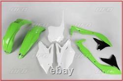 Set Plastic Complete OEM UFO Kawasaki Kxf 450 2018