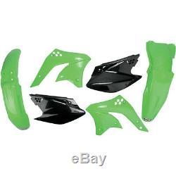 Set Plastica Kit Plastica Incl. Targa OEM Kawasaki Kxf Kx-F 250 2008