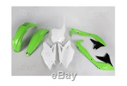 Set Plastica Kit Plastica Incl. Targa OEM Plastica Kawasaki Kxf 450 2018