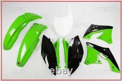 Set Plastique Complet OEM UFO Kawasaki Kxf 250 2010 2011