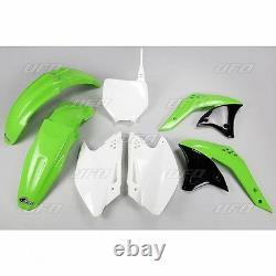 UFO Motocross Plastic Kit Kawasaki KXF 250 2007 OEM Colour KAKIT208E-999