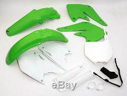 UFO Motocross Plastic Kit for Kawasaki KXF 250 2004
