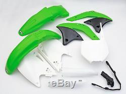 UFO Motocross Plastic Kit for Kawasaki KXF 250 2007