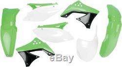 UFO Plastikkit KAWASAKI KXF450 09 OEM-COLOR