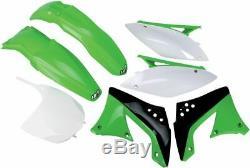 UFO Plastikkit KAWASAKI KXF450 10-11 OEM-COLOR