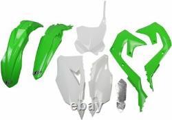UFO Plastikkit Plastiksatz Bodykit Plastics Kawasaki KXF KX 450 19-20 OEM19