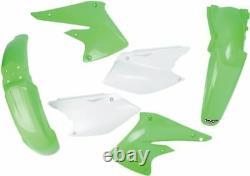 Ufo Complete Body Kit Kawasaki Kxf250 Oem-color Kakit203e-999