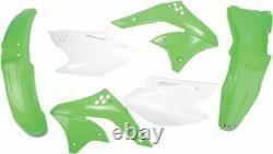 Ufo Complete Body Kit Kawasaki Kxf250 Oem-color Kakit208e-999
