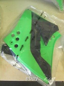 Ufo Complete Shroud #-plate + Fender Set Kawasaki Kxf250 2009-2012 Oem Kit