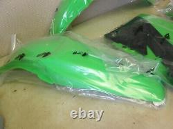 Ufo Complete Shroud #-plate + Fender Set Kawasaki Kxf450 2009-2011 Oem Kit