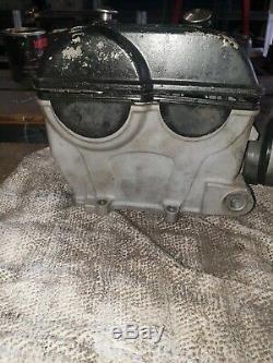 Used OEM Kawasaki KXF250 complete Cylinder Head 2009 2010